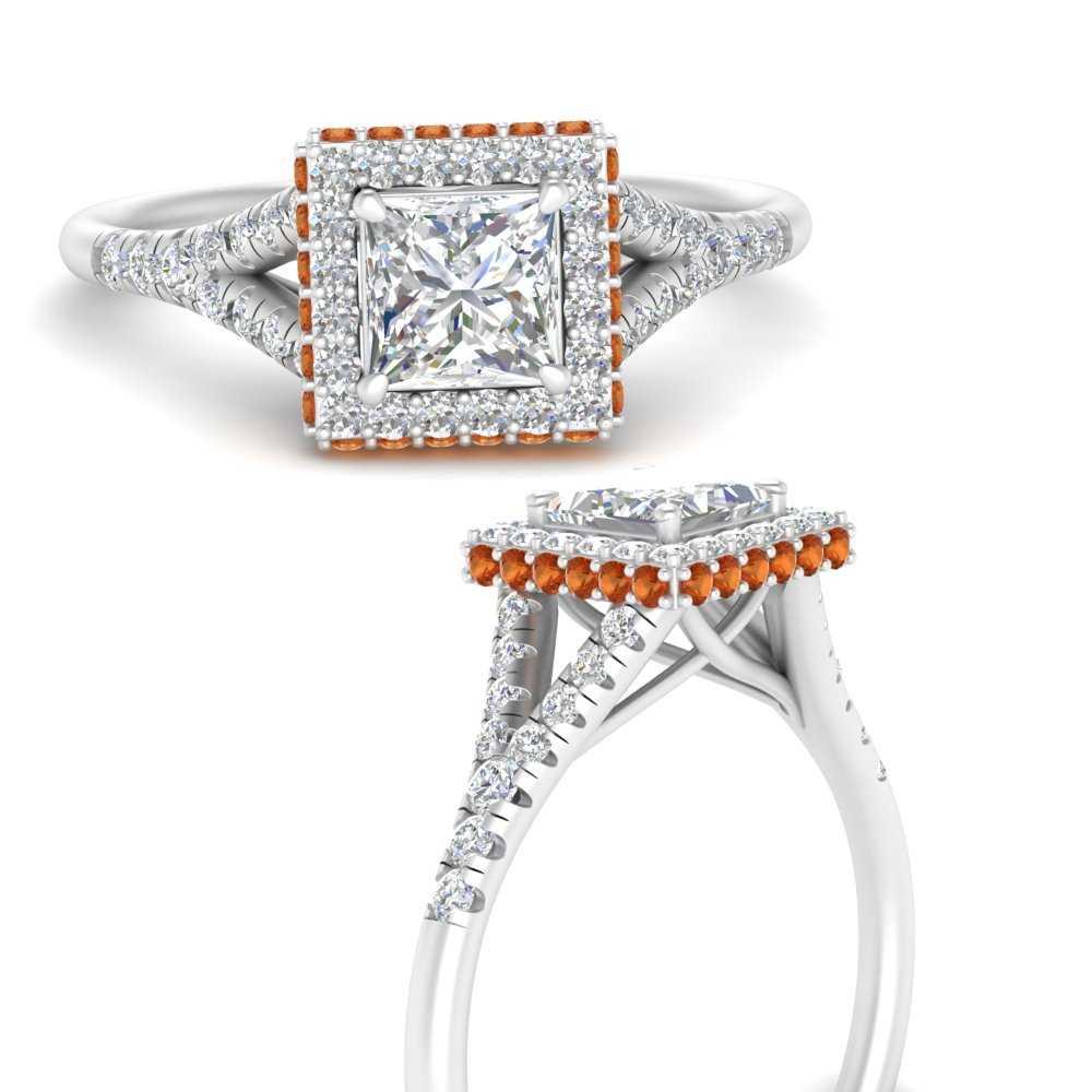 split-shank-princess-cut-halo-diamond-engagement-ring-with-orange-sapphire-in-FD9592PRRGSAORANGLE3-NL-WG
