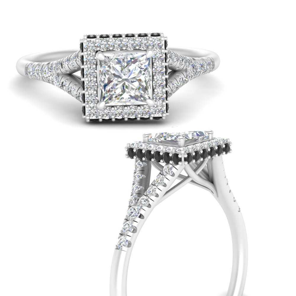 split-shank-princess-cut-halo-engagement-ring-with-black-diamond-in-FD9592PRRGBLACKANGLE3-NL-WG