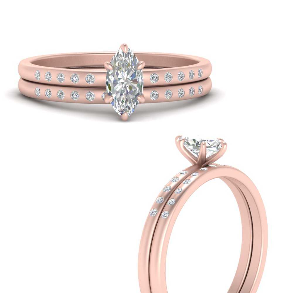scattered-bezel-marquise-cut-wedding-ring-sets-in-FD9593MQANGLE3-NL-RG