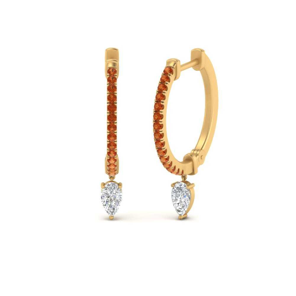 huggie-orange-sapphire-pear-earrings-in-FDEAR9598GSAOR-NL-YG