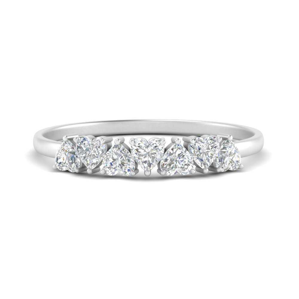 inexpensive-7-stone-heart-shape-diamond-wedding-band-in-FD9600B-NL-WG
