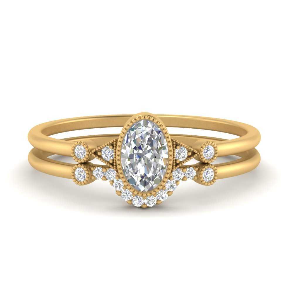 bezel-set-oval-halo-ring-wedding-set-in-FD9602OV-NL-YG