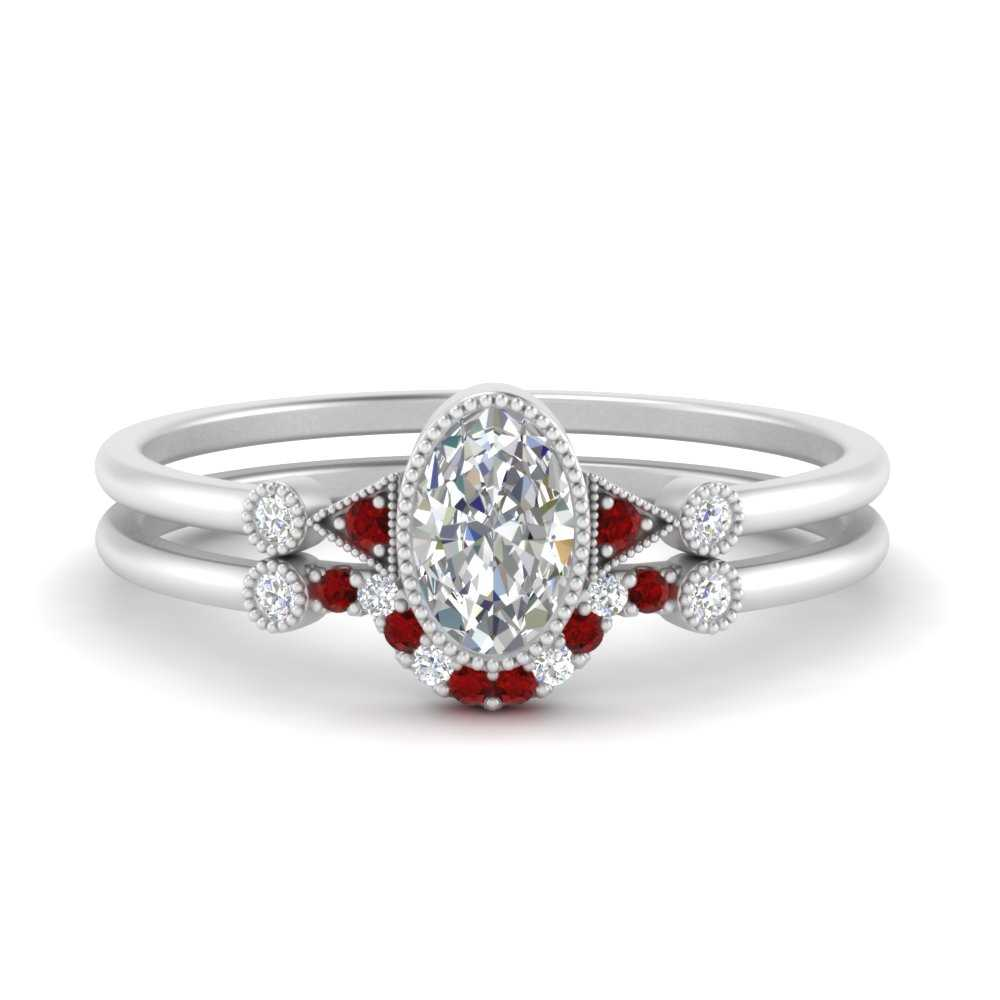 bezel-set-oval-halo-ring-wedding-set-with-ruby-in-FD9602OVGRUDR-NL-WG