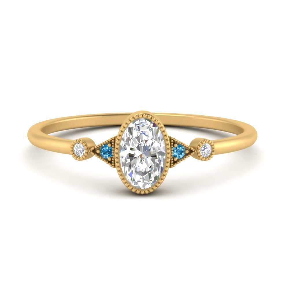 bezel-set-oval-halo-vintage-engagement-ring-with-blue-topaz-in-FD9602OVRGICBLTO-NL-YG