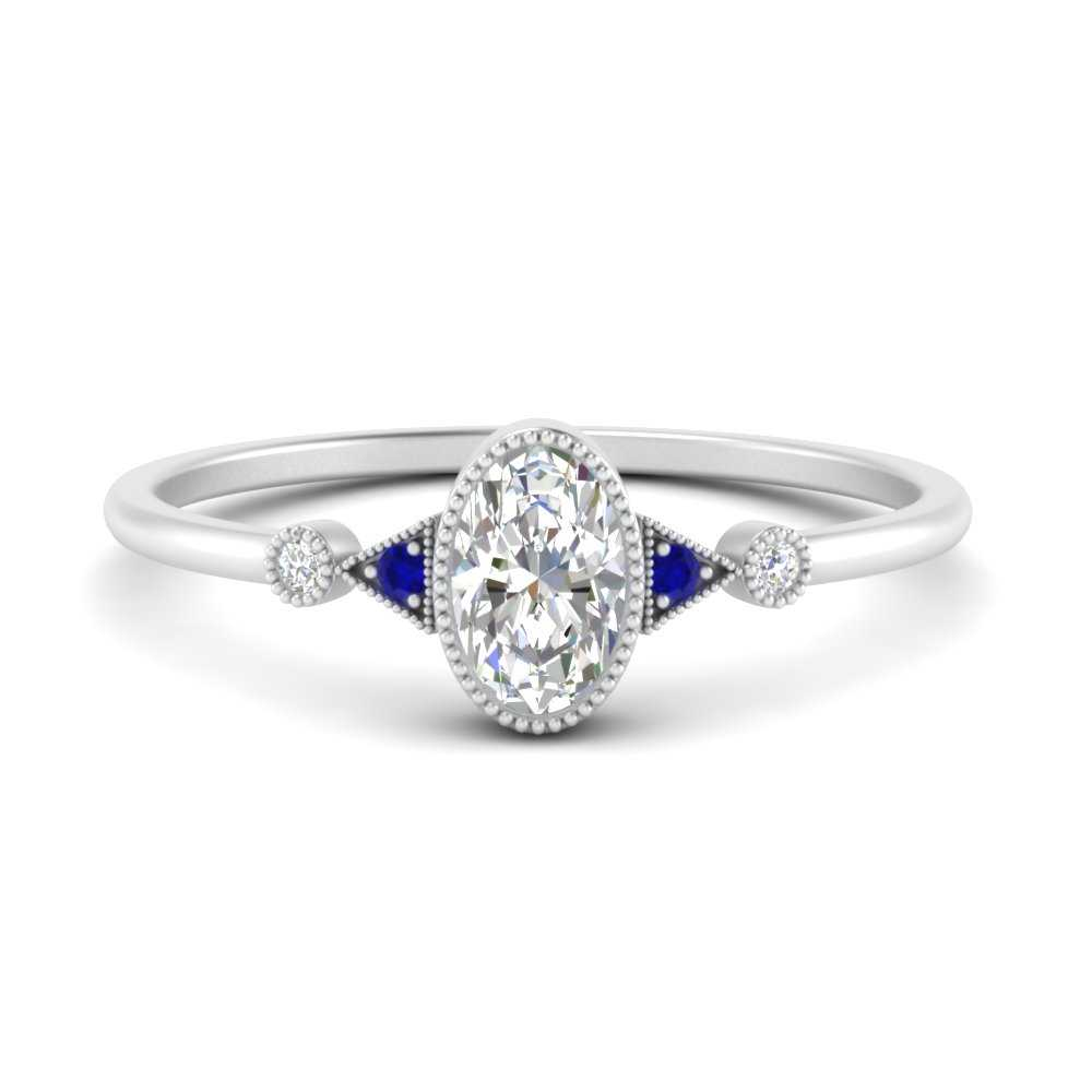 bezel-set-oval-halo-vintage-engagement-ring-with-sapphire-in-FD9602OVRGSABL-NL-WG