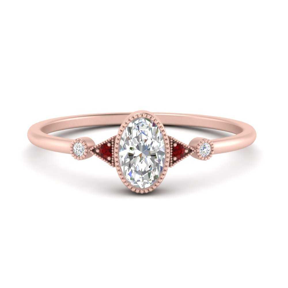 milgrain-bezel-oval-moissanite-engagement-ring-with-ruby-in-FD9602OVRGRUDR-NL-RG