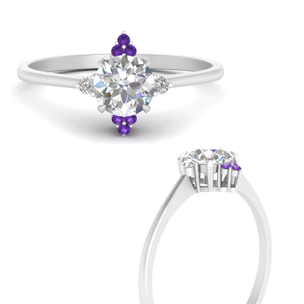 simple-vintage-round-diamond-engagement-ring-with-purple-topaz-in-FD9605RORGVITOANGLE3-NL-WG