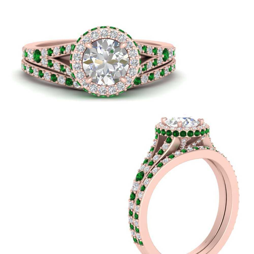 split-shank-round-diamond-halo-bridal-ring-set-with-emerald-in-FD9606ROGEMGRANGLE3-NL-RG.jpg