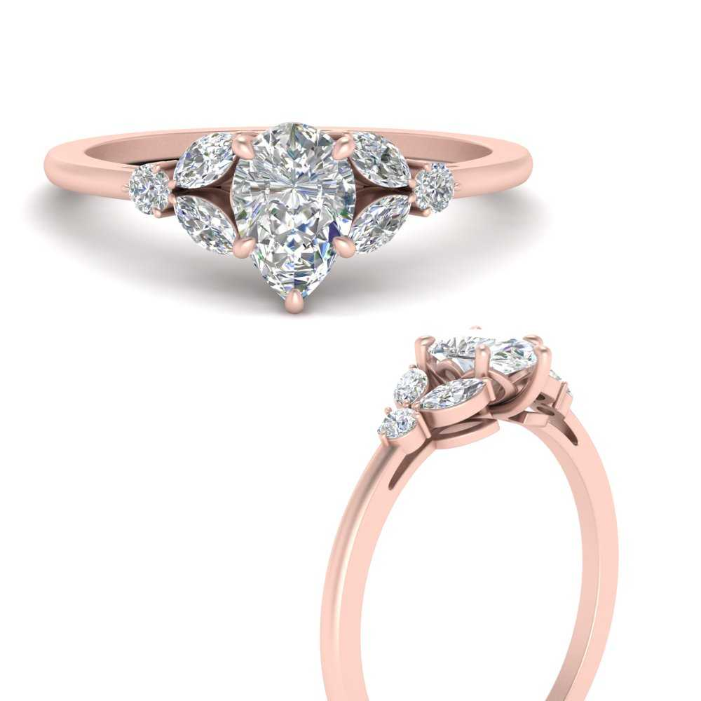 vintage-marquise-and-round-engagement-pear-ring-in-FD9607PERANGLE3-NL-RG