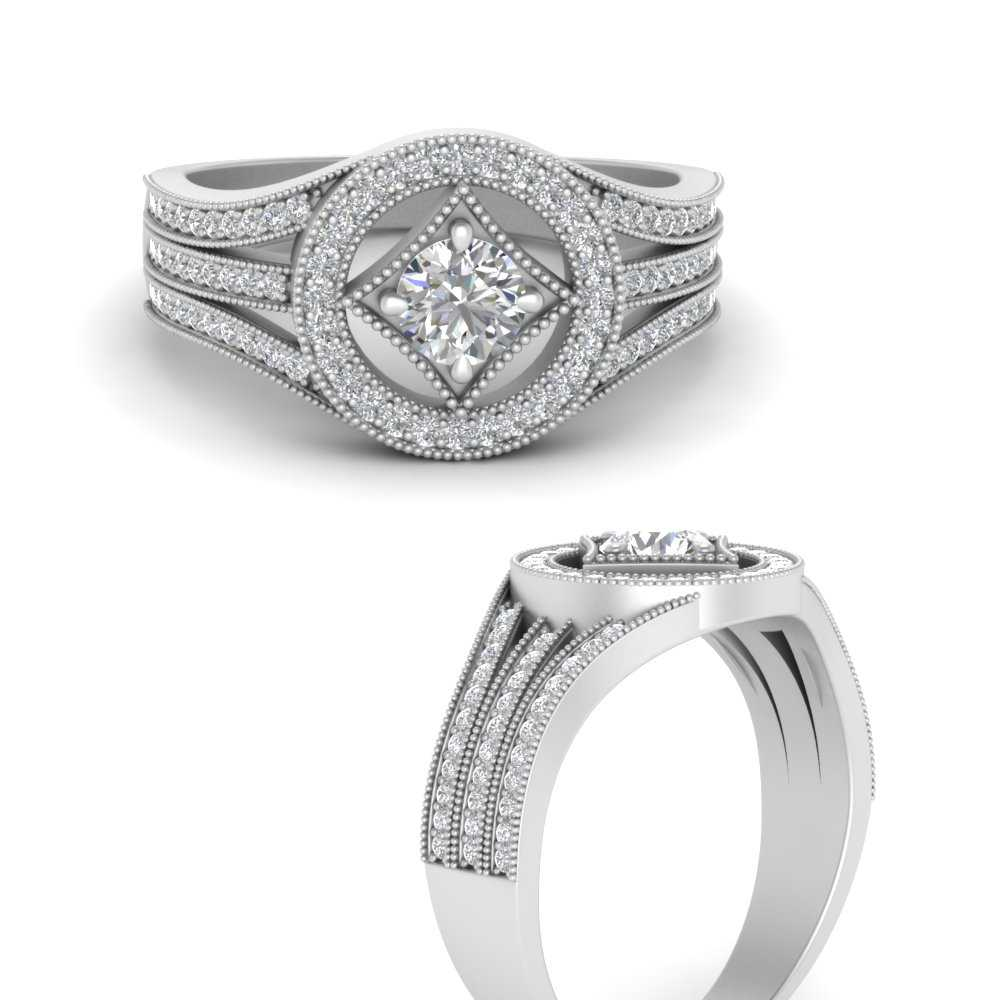 affordable-vintage-diamond-engagement-ring-in-FD9611RORANGLE-NL-WG