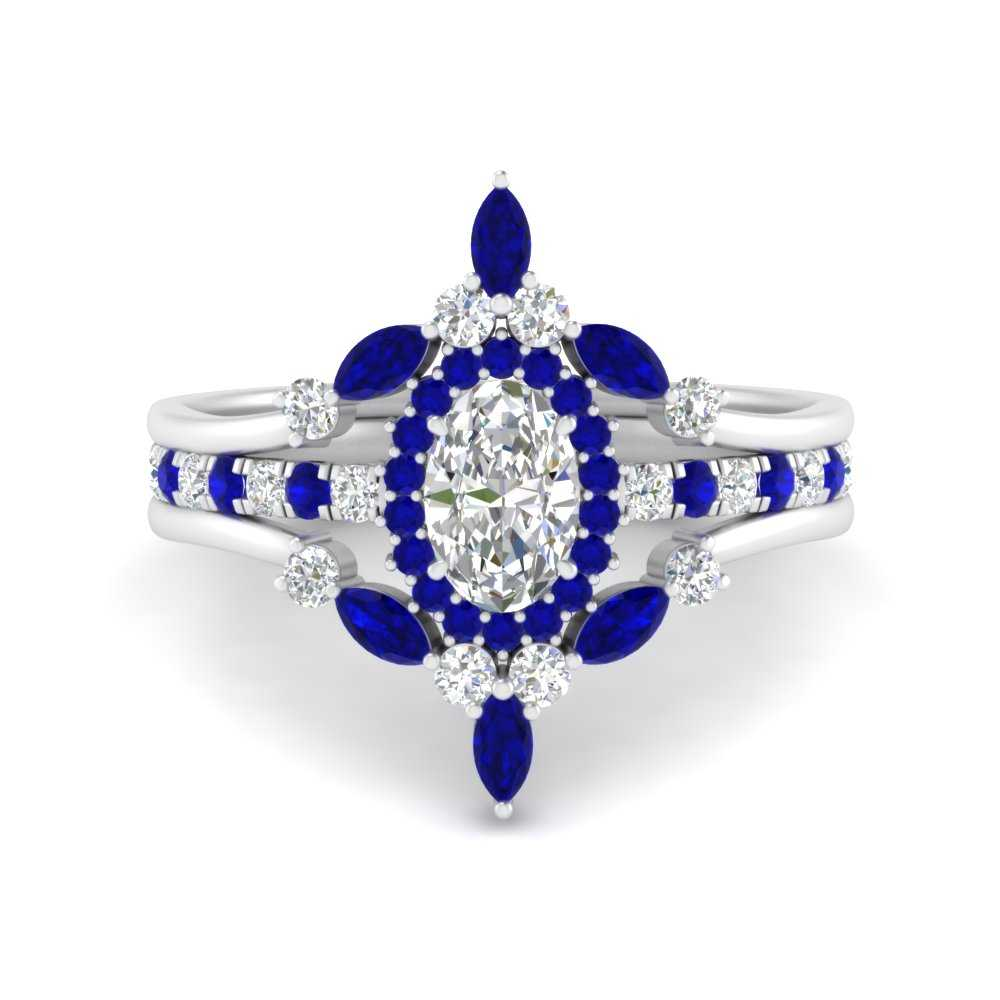 oval-halo-crown-sapphire-wedding-ring-set-in-FD9612OVGSABL-NL-WG