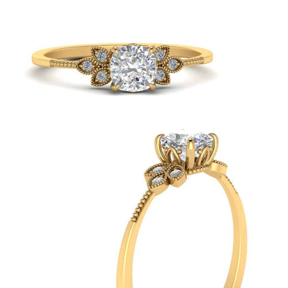leaf-diamond-cushion-engagement-ring-in-FD9615CURANGLE3-NL-YG