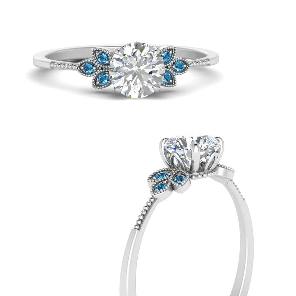 leaf-lab diamond-round-engagement-ring-with-blue-topaz-in-FD9615RORGICBLTOANGLE3-NL-WG