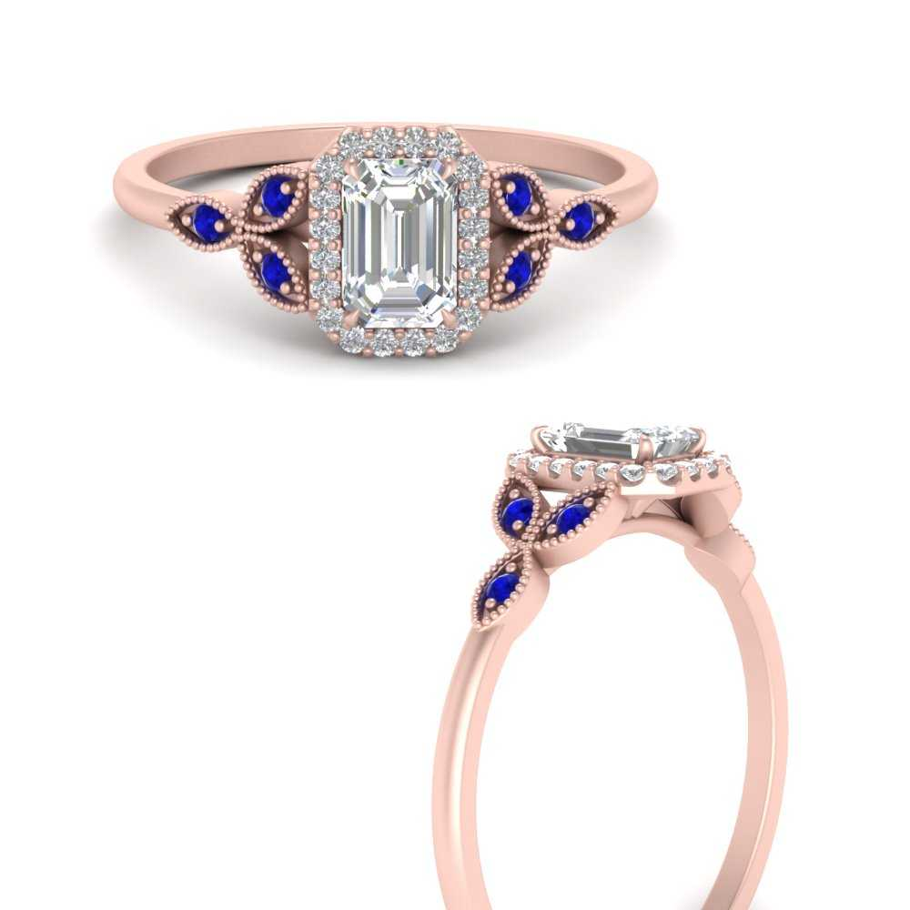halo-leaf-diamond-emerald-cut-engagement-ring-with-sapphire-in-FD9616EMRGSABLANGLE3-NL-RG