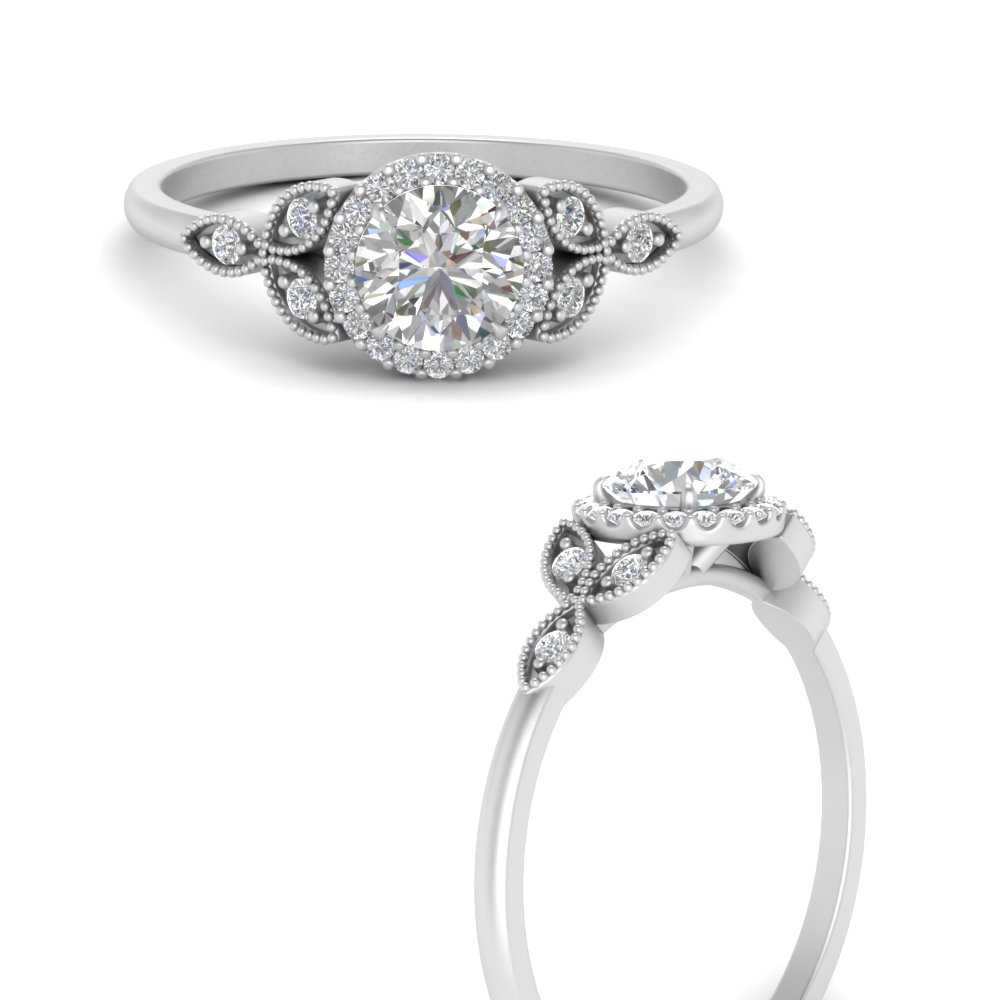 halo-leaf-moissanite-round-engagement-ring-in-FD9616RORANGLE3-NL-WG