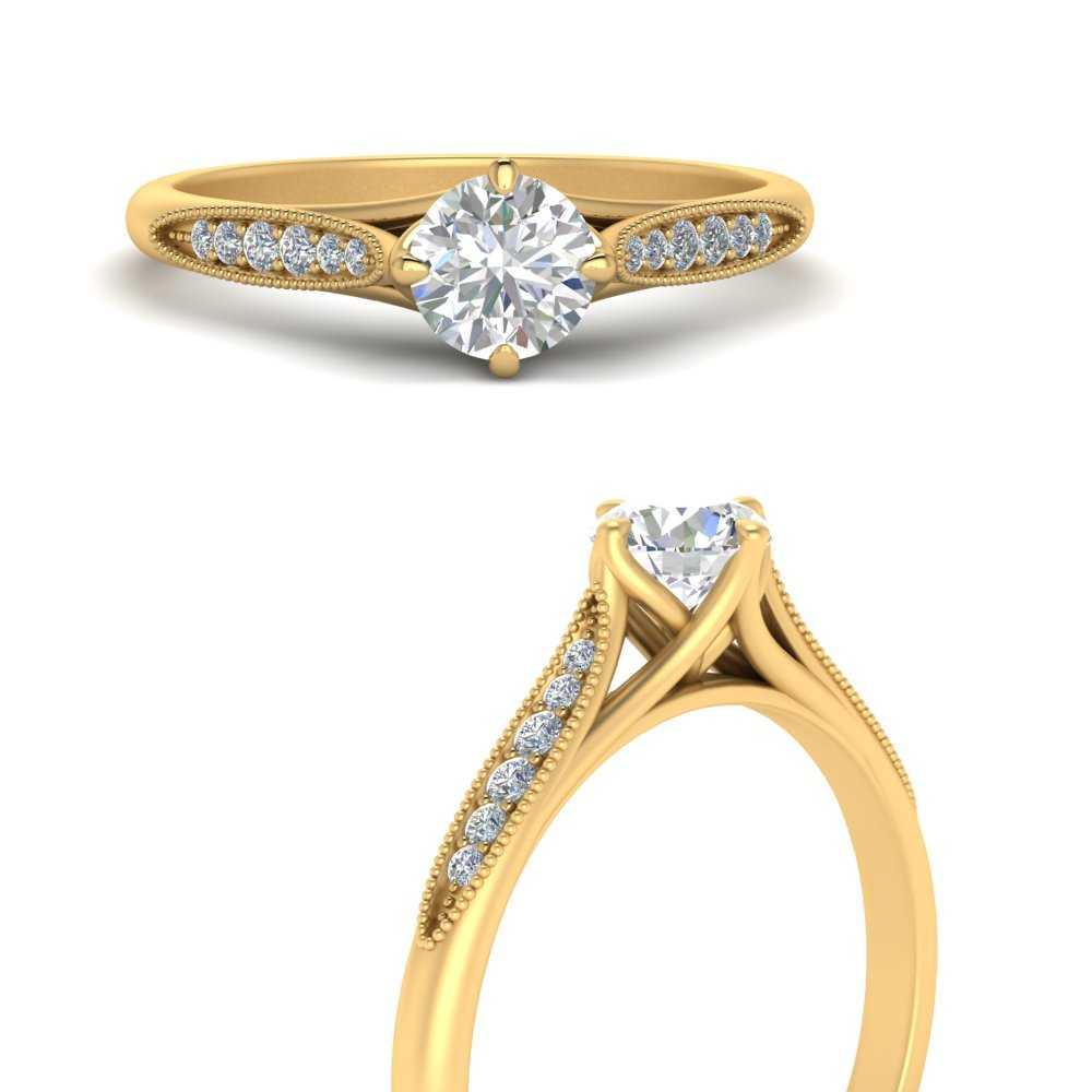 milgrain-pave-diamond-engagement-ring-in-FD9626RORANGLE3-NL-YG