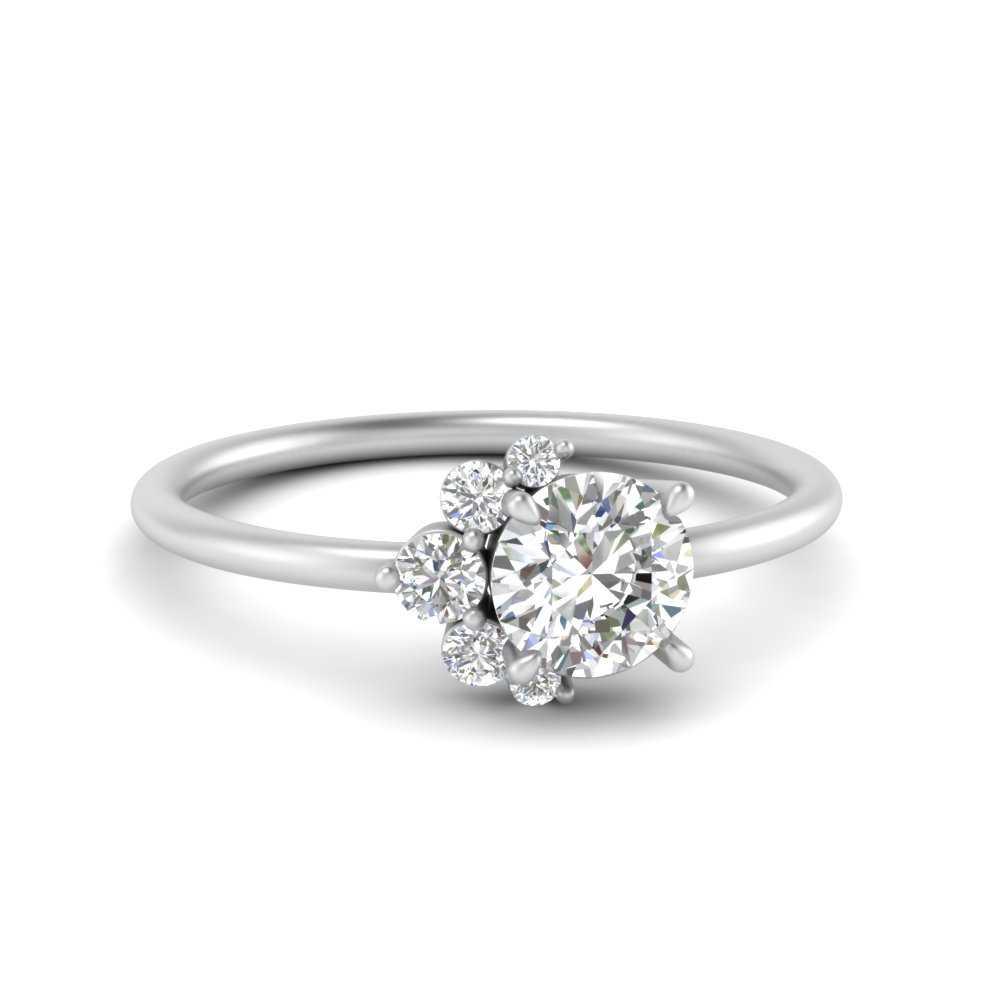 Offbeat Lab Grown Diamond Ring
