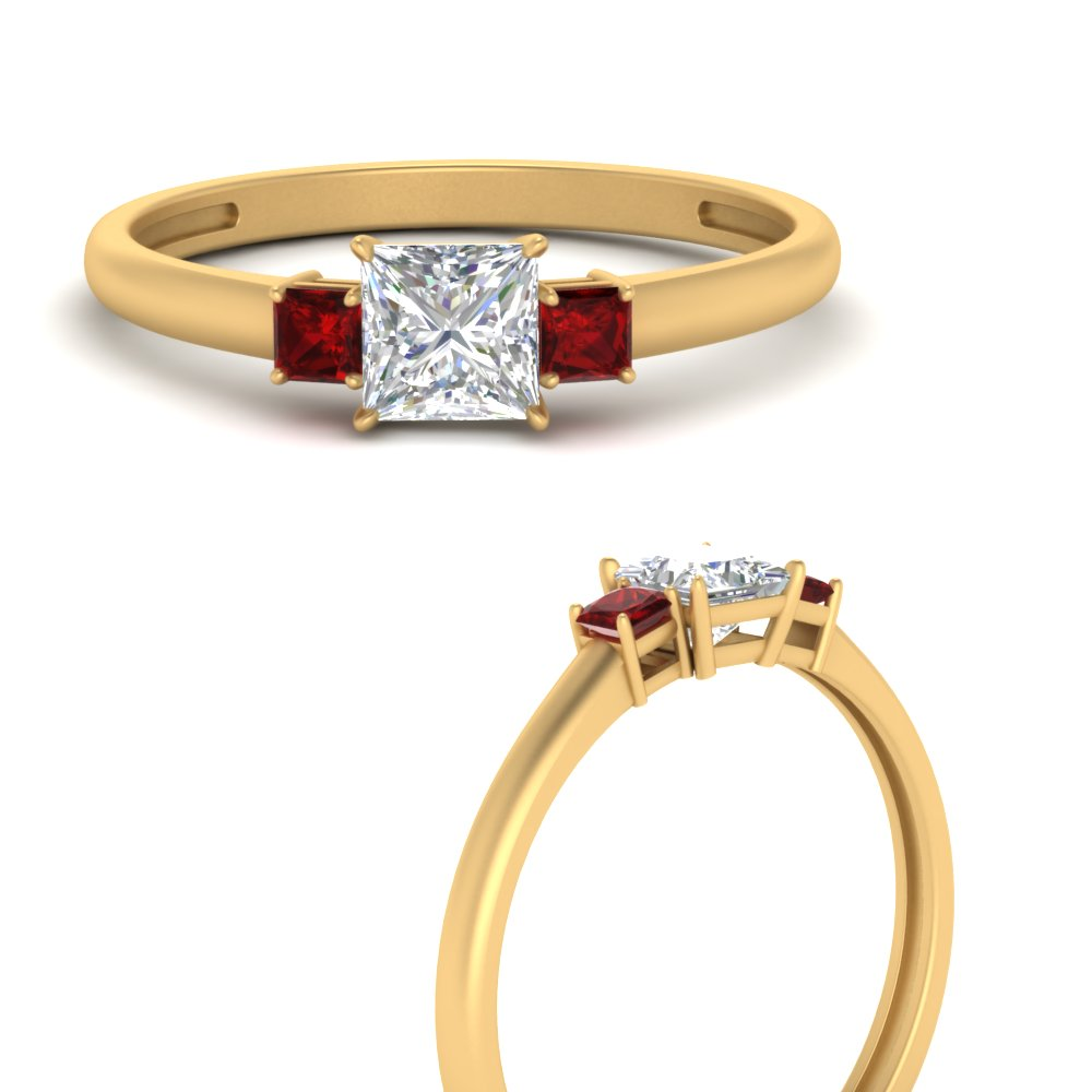3-stone-princess-cut-ruby-engagement-ring-in-FD9634PRRGRUDRANGLE3-NL-YG