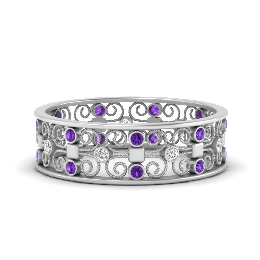 bezel-set-filigree-purple-topaz-wedding-band-in-FD9652BGVITO-NL-WG