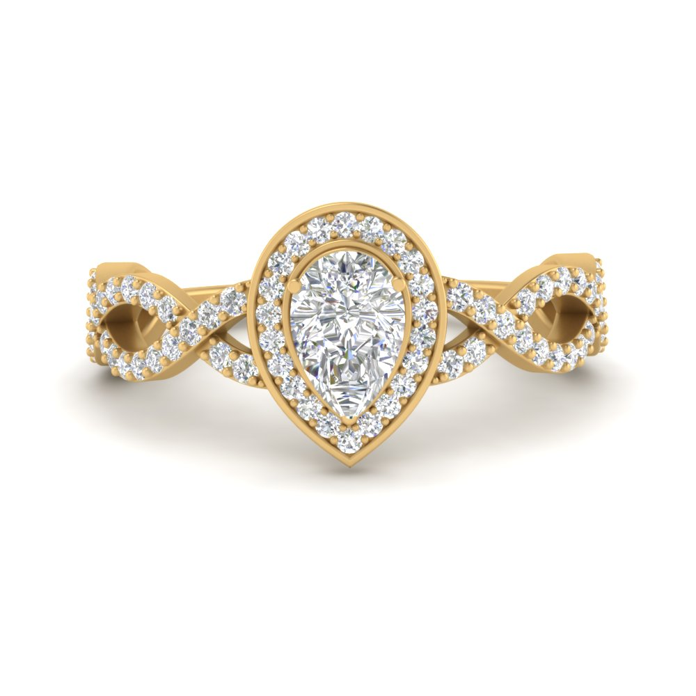 pear-intertwined-halo-diamond-engagement-ring-in-FD9653PER-NL-YG