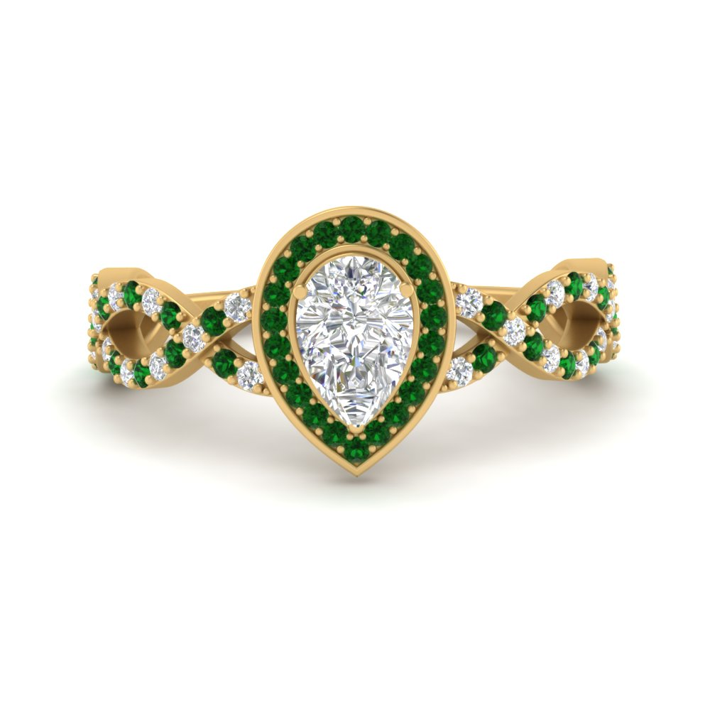 pear-intertwined-halo-diamond-engagement-ring-with-emerald-in-FD9653PERGEMGR-NL-YG