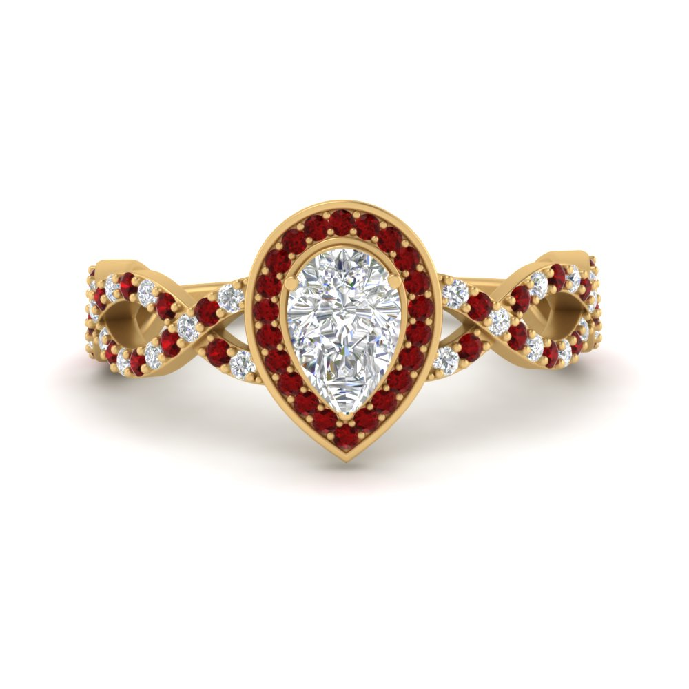 pear-intertwined-halo-diamond-engagement-ring-with-ruby-in-FD9653PERGRUDR-NL-YG