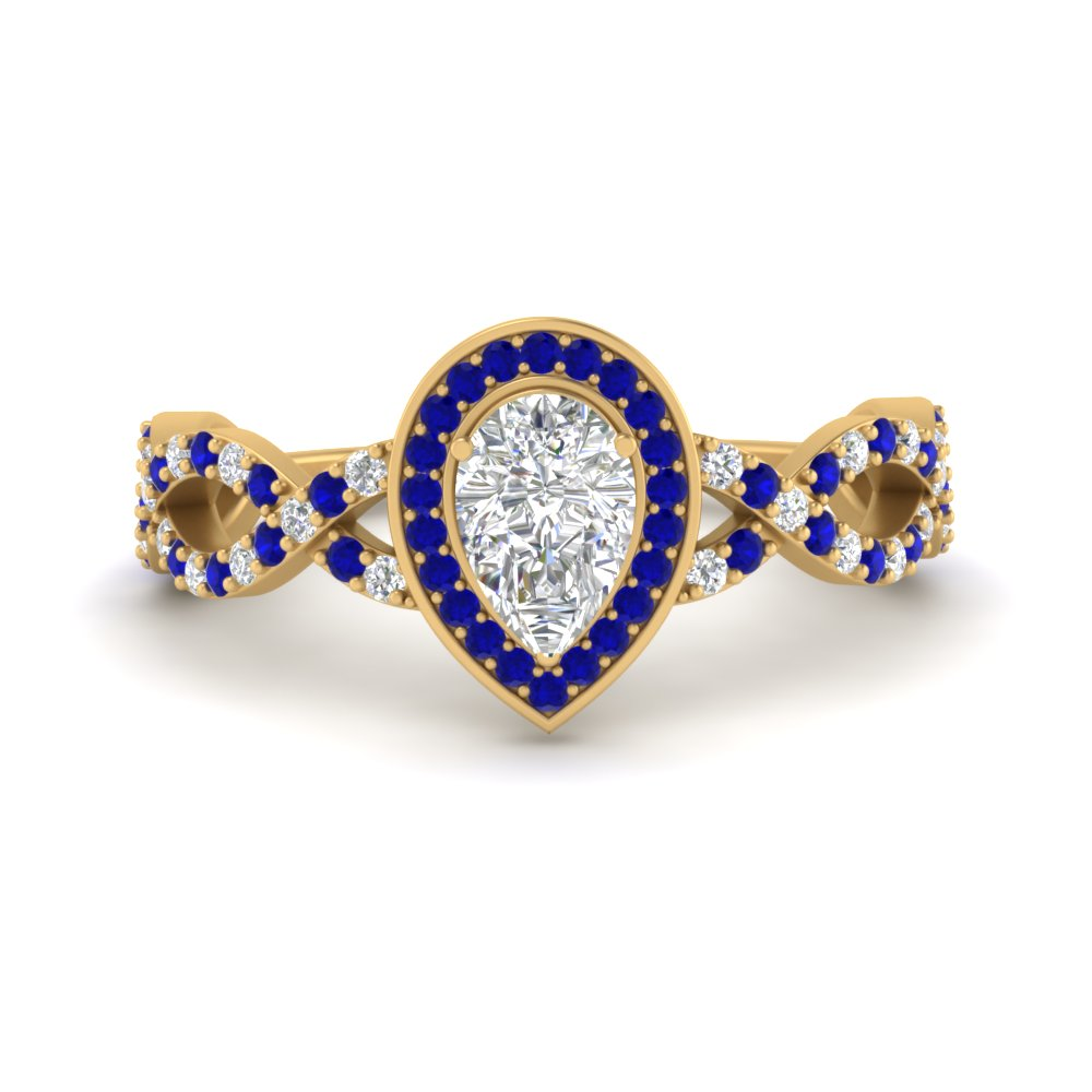 pear-intertwined-halo-diamond-engagement-ring-with-sapphire-in-FD9653PERGSABL-NL-YG