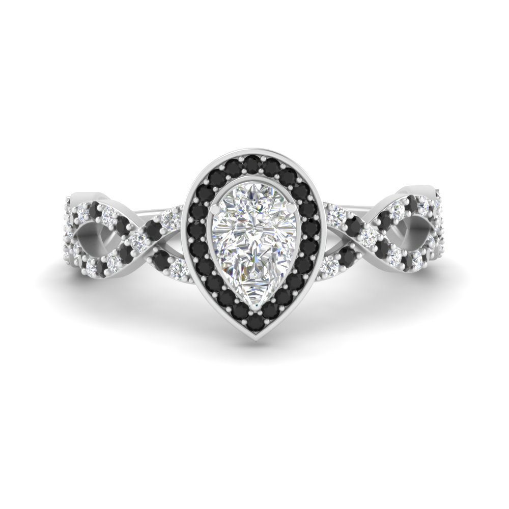 pear-intertwined-halo-engagement-ring-with-black-diamond-in-FD9653PERGBLACK-NL-WG