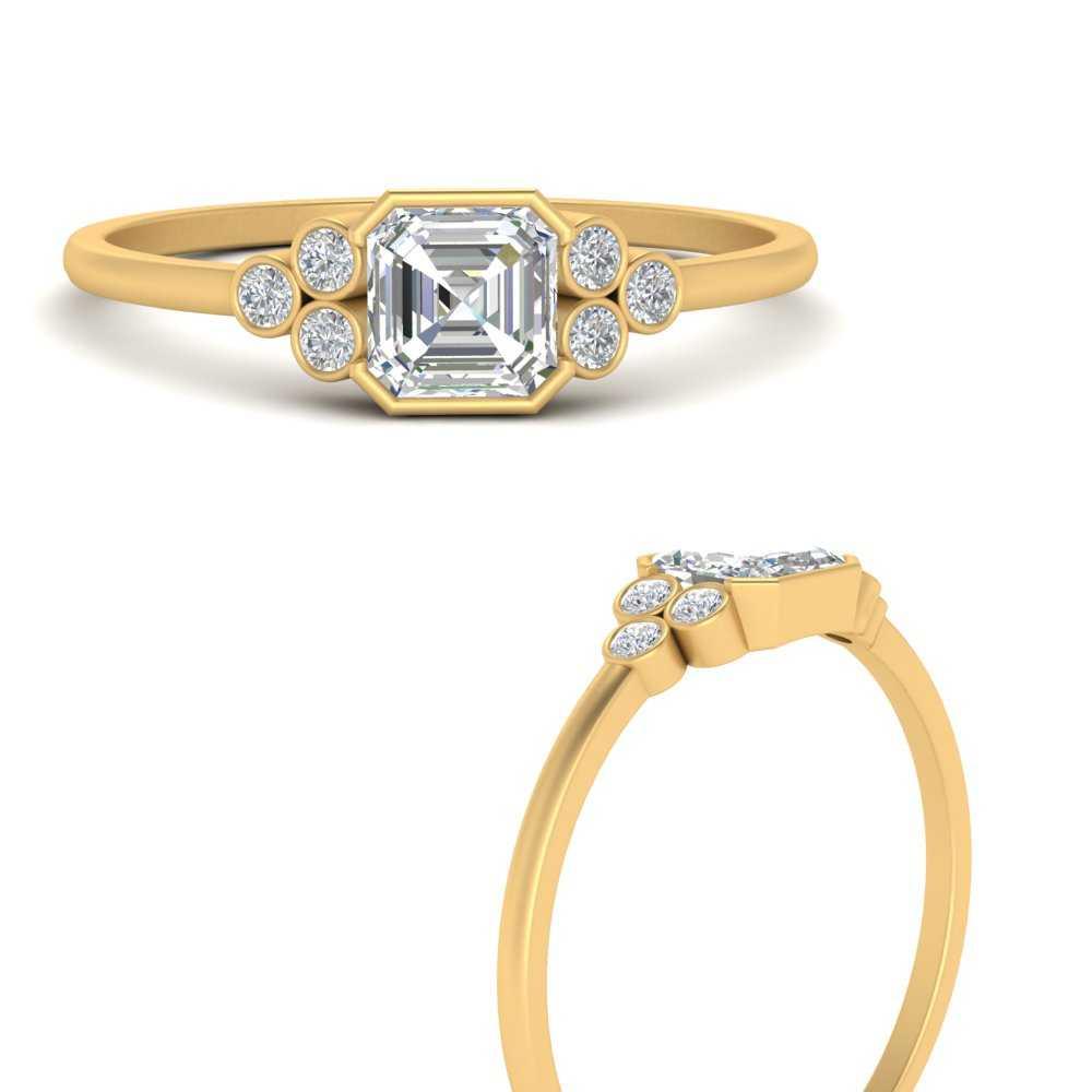 bezel-set-petite-asscher-cut-diamond-engagement-ring-in-FD9660ASRANGLE3-NL-YG