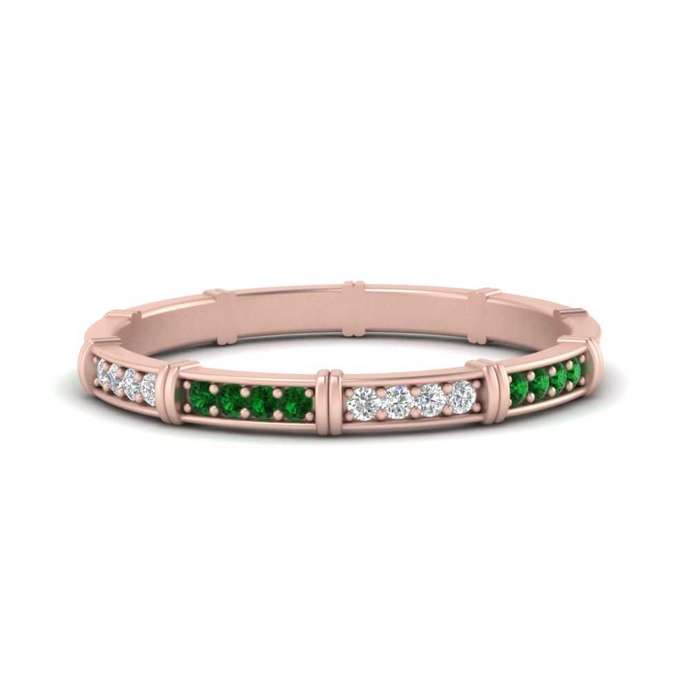 pave-link-diamond-stacking-band-with-emerald-in-FD9666BGEMGR-NL-RG