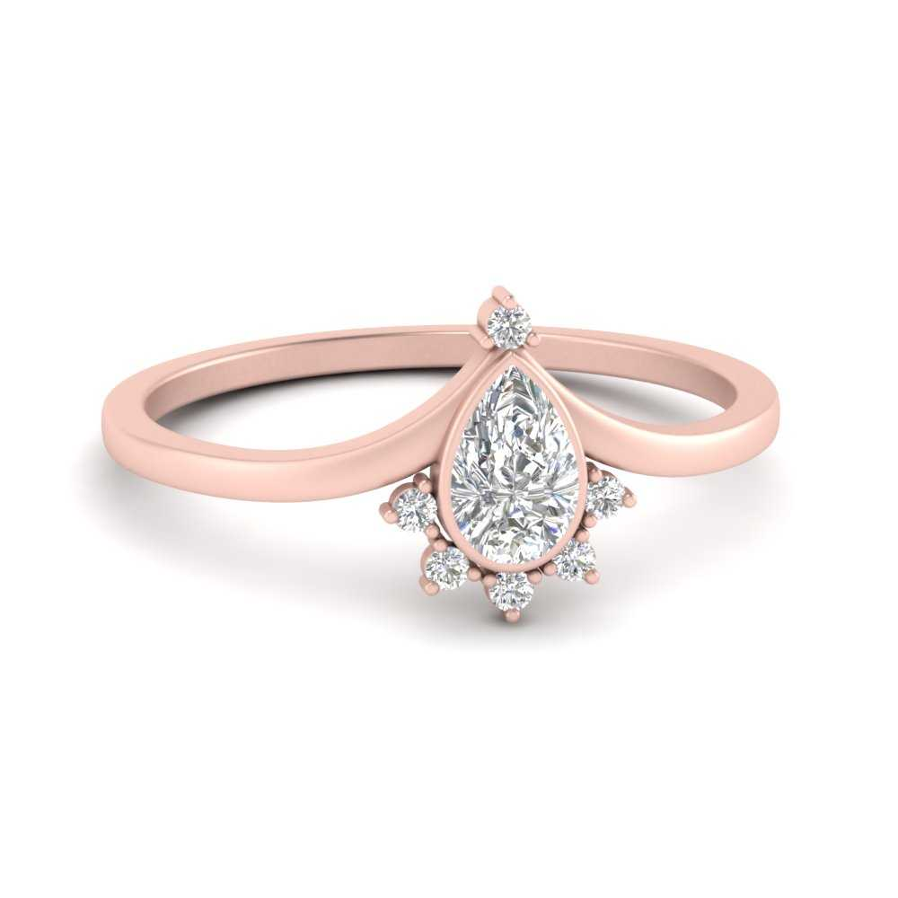 bezel-set-pear-crown-diamond-engagement-ring-in-FD9670PER-NL-RG