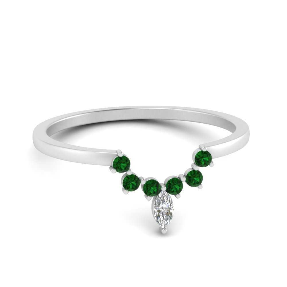 curved-crown-emerald-wedding-band-in-FD9670BGEMGR-NL-WG