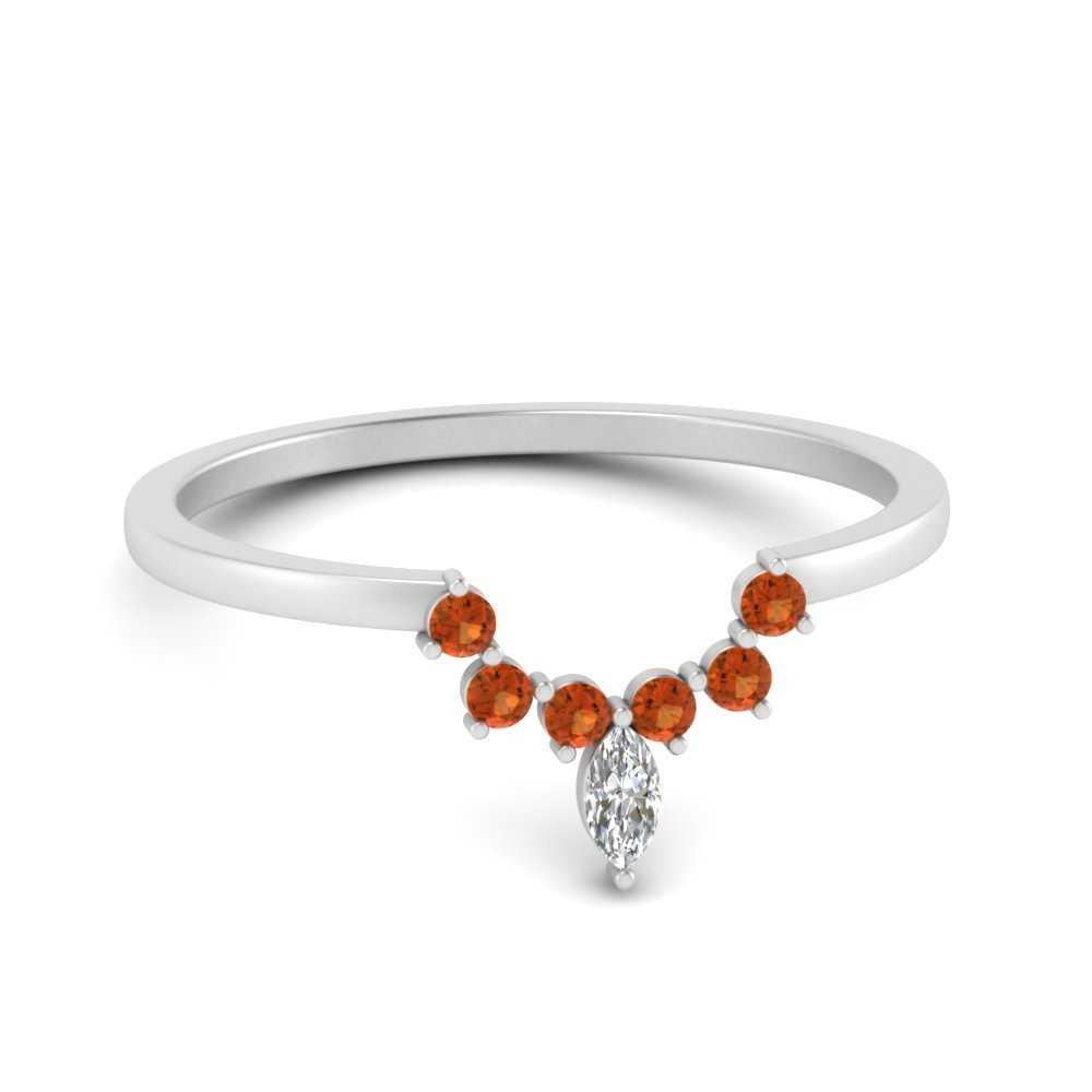 curved-crown-orange-sapphire-wedding-band-in-FD9670BGSAOR-NL-WG