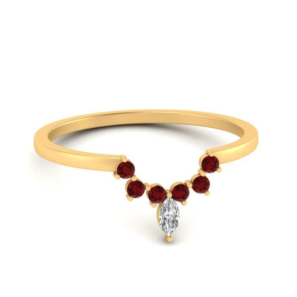 curved-crown-ruby-wedding-band-in-FD9670BGRUDR-NL-YG