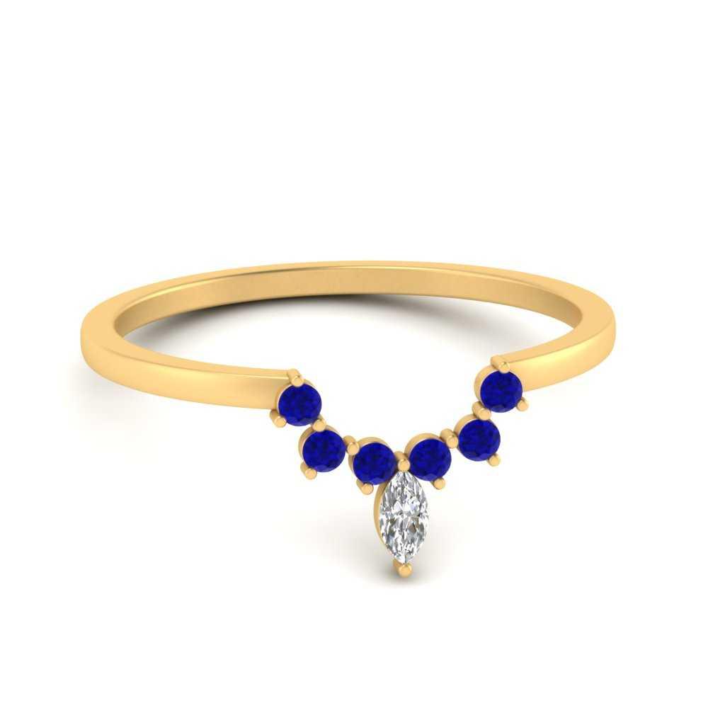 curved-crown-sapphire-wedding-band-in-FD9670BGSABL-NL-YG