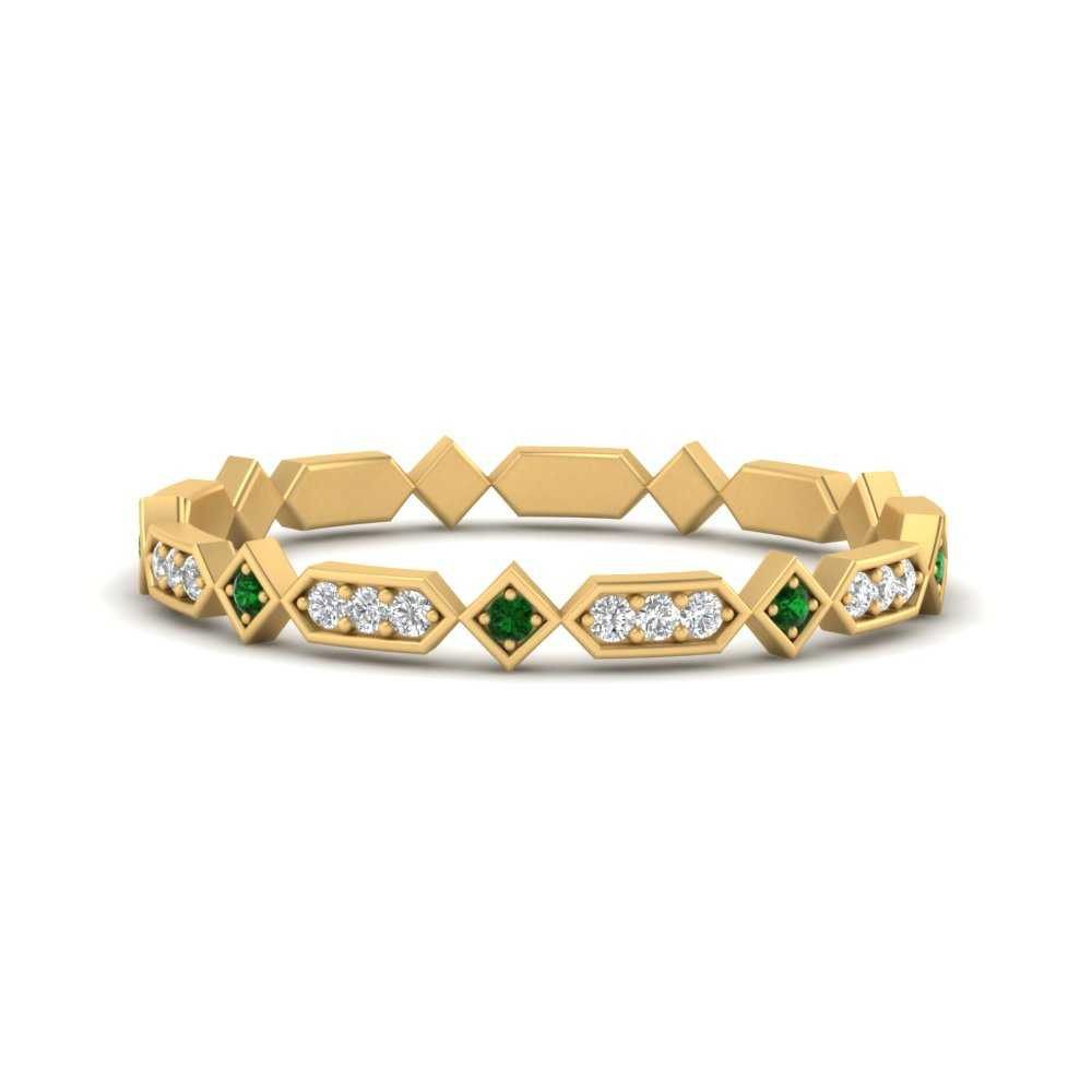 compass-point-antique-stacking-diamond-ring-with-emerald-in-FD9672BGEMGR-NL-YG