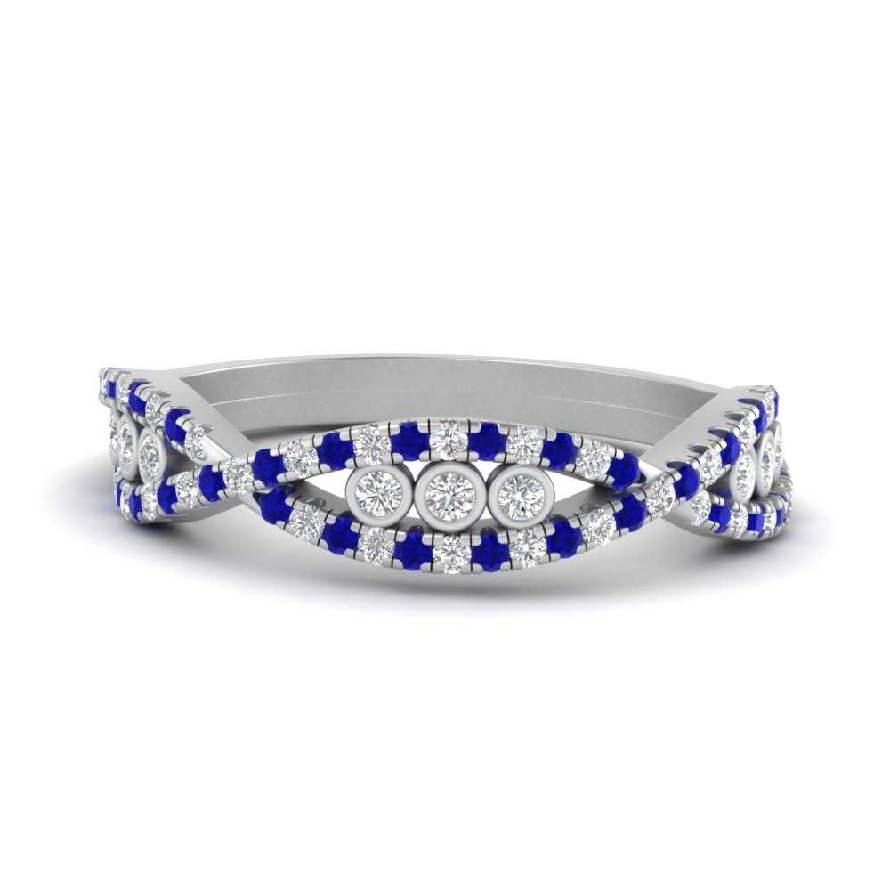 infinity-style-split-women-diamond-wedding-band-with-sapphire-in-FD9675BGSABL-NL-WG