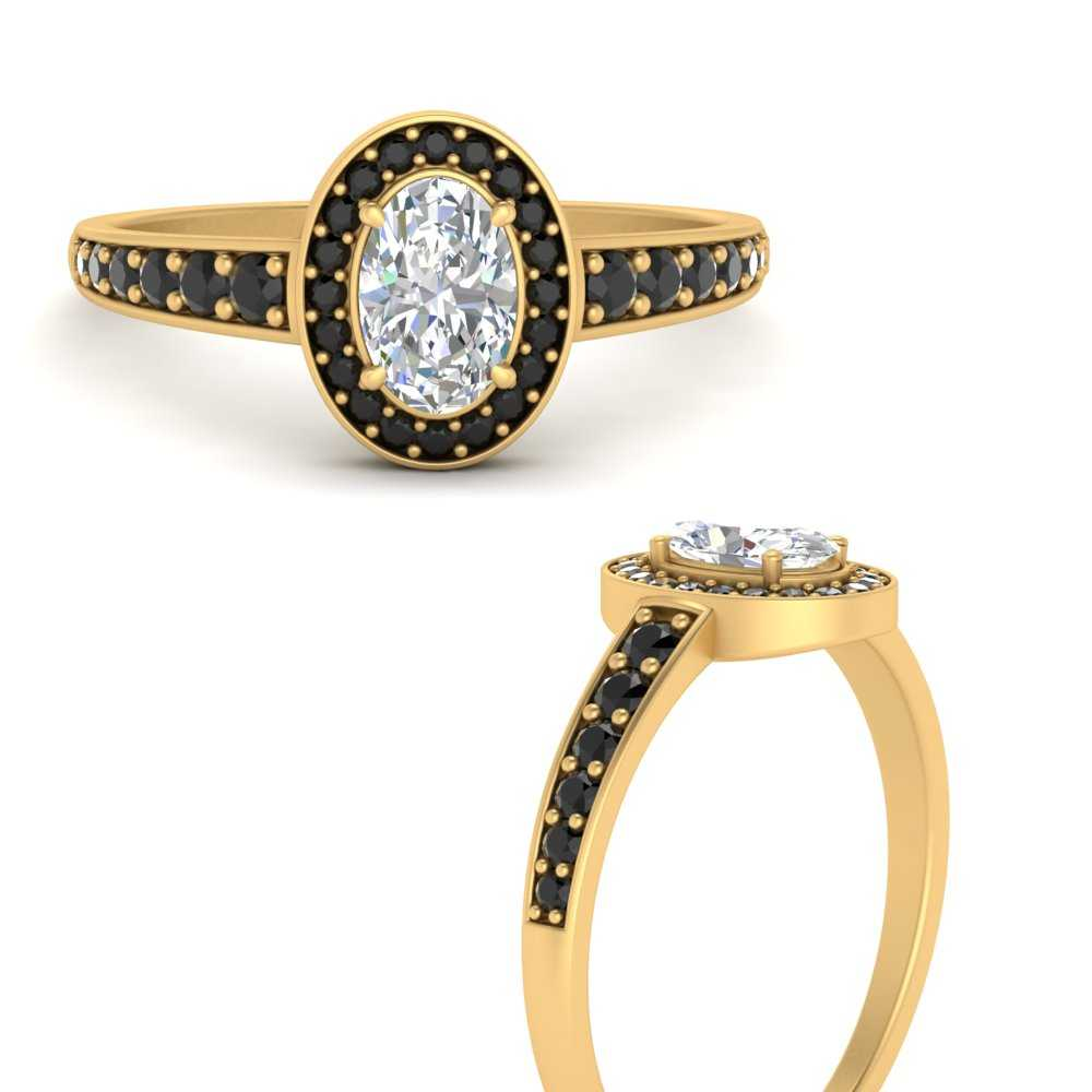 graduated-oval-halo-black-diamond-engagement-ring-in-FD9698OVRGBLACKANGLE3-NL-YG-GS