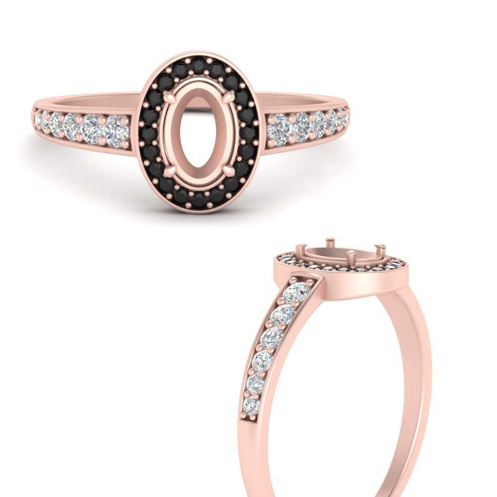 halo-semi-mount-tapered-shank-engagement-ring-with-black-diamond-in-FD9698SMRGBLACKANGLE3-NL-RG