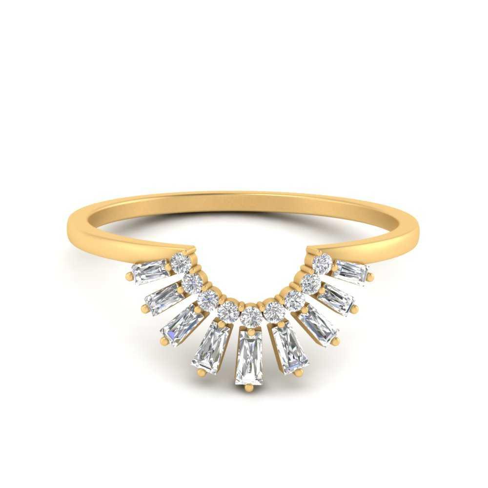 baguette-grown-curved-diamond-wedding-band-in-FD9699B-NL-YG