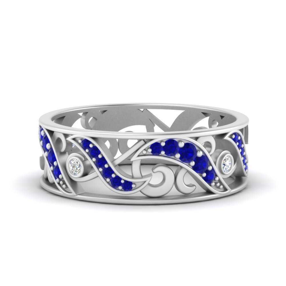filigree-diamond-wedding-band-for-women-with-sapphire-in-FD9708BGSABL-NL-WG