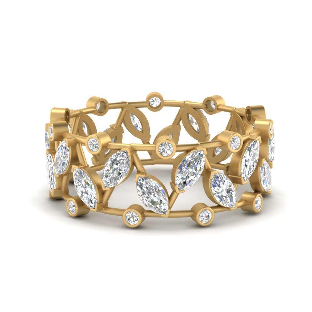art-deco-marquise-wide-wedding-diamond-band-in-FD9712B-NL-YG