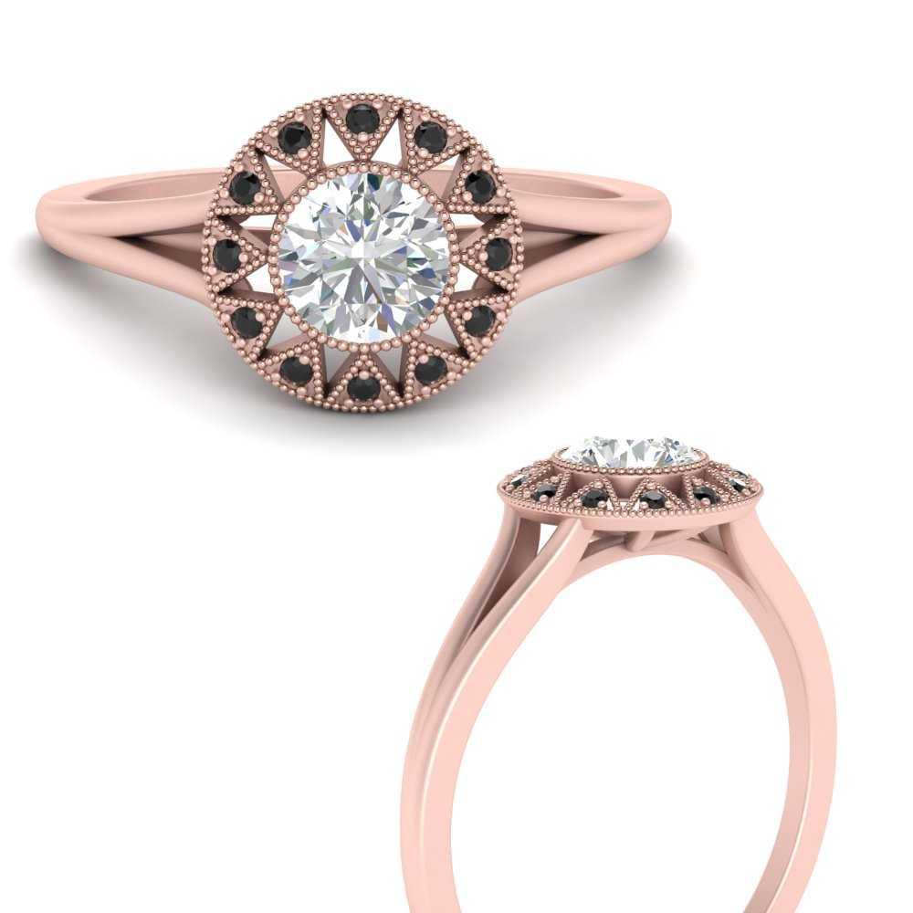 georgian-round-halo-black-diamond-engagement-ring-in-FD9718RORGBLACKANGLE3-NL-RG