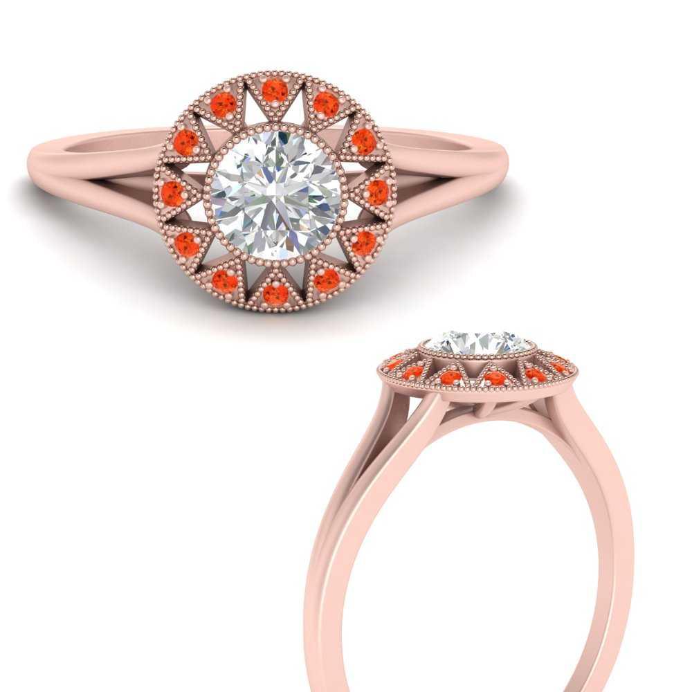 georgian-round-halo-orange-topaz-engagement-ring-in-FD9718RORGPOTOANGLE3-NL-RG
