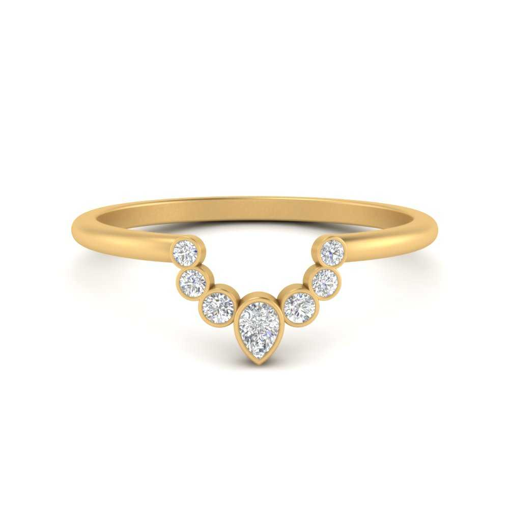 curved-bezel-round-and-pear-wedding-band-in-FD9719B-NL-YG