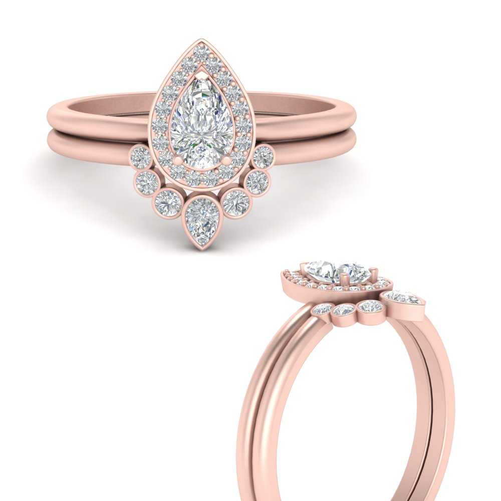 pear-halo-engagement-ring-and-bezel-set-curved-diamond-band-in-FD9719PEANGLE3-NL-RG