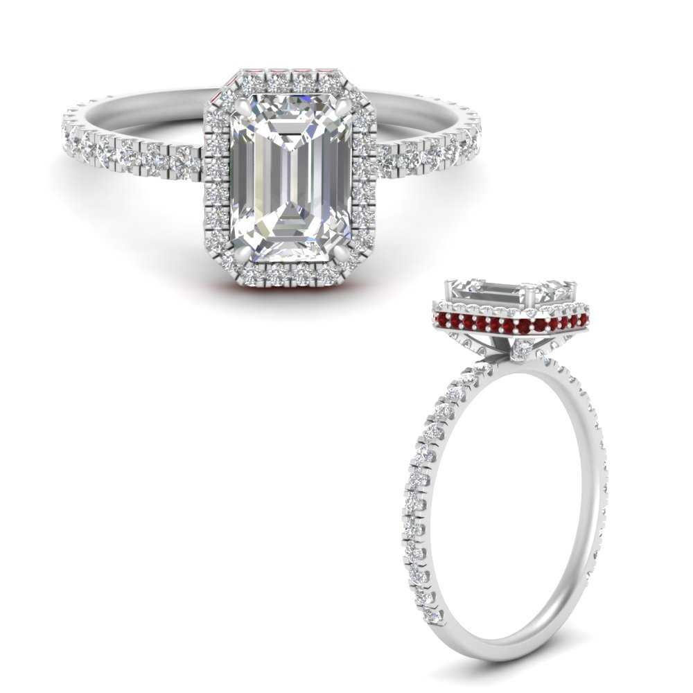 double-edge-emerald-cut-lab diamond-engagement-ring-with-ruby-in-FD9728EMRGRUDRANGLE3-NL-WG