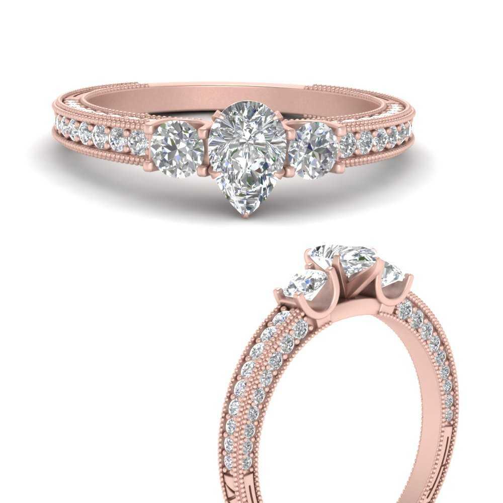 pear-shaped-three-stone-milgrain-diamond-engagement-ring-in-FD9730PERANGLE3-NL-RG