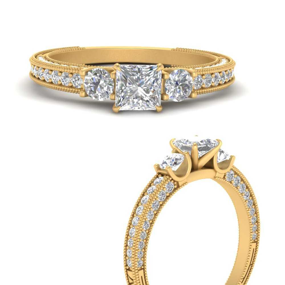 vintage-style-3-stone-princess-cut-diamond-engagement-ring-in-FDENR6260PRRANGLE3-NL-YG.jpg