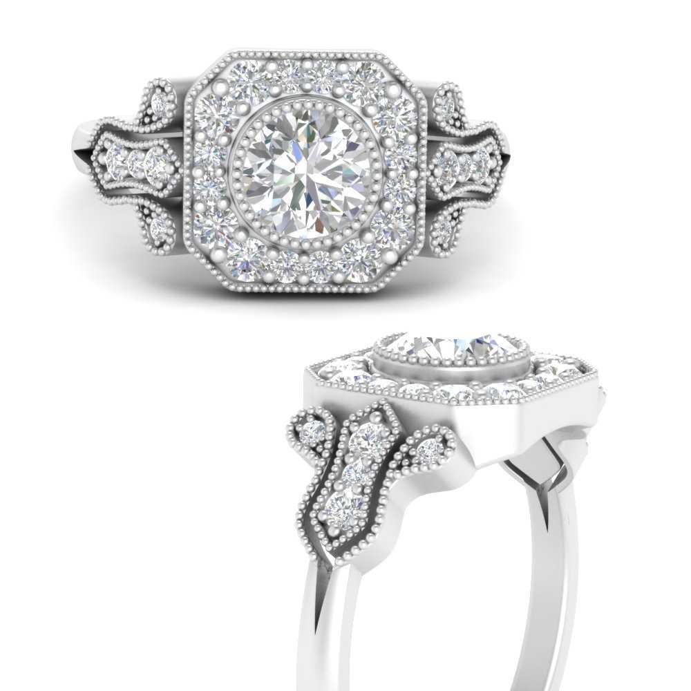 edwardian-round-moissanite-halo-engagement-ring-in-FD9731RORANGLE3-NL-WG